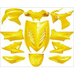 plaatwerkset special aerox geel DMP 11-delig
