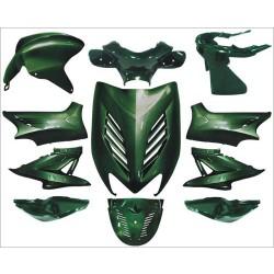plaatwerkset special aerox groen jaguar DMP 11-delig