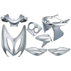 plaatwerkset aerox zilver metallic DMP 7-delig
