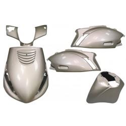 plaatwerkset zip2000 zilver DMP 5-delig