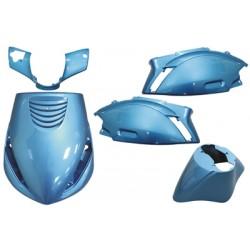 plaatwerkset zip2000 blauw licht DMP 5-delig