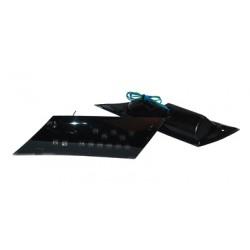knipperlichtset + led lamp zip2000 zwart/smoke achter DMP