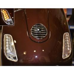 Vespa LED knipperlichtset  LX / LXV / S  voorkant
