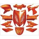 plaatwerkset special aerox amber metallic DMP 11-delig