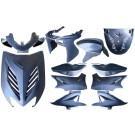 plaatwerkset special aerox blauw metallic DMP 11-delig