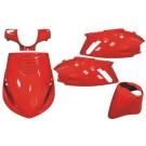 plaatwerkset zip2000 rood DMP 5-delig