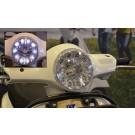 Vespa LX LED koplamp compleet